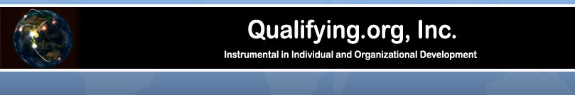 Qualifying.Org - Instrumental in Individual and Organizational Development